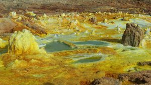 Historic Ethiopia and Danakil depression